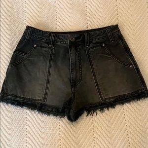 Free People women's Jean shorts